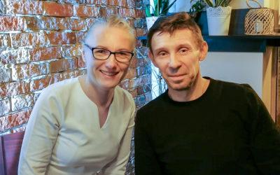 Marzenka i Wojtek Podmaniccy